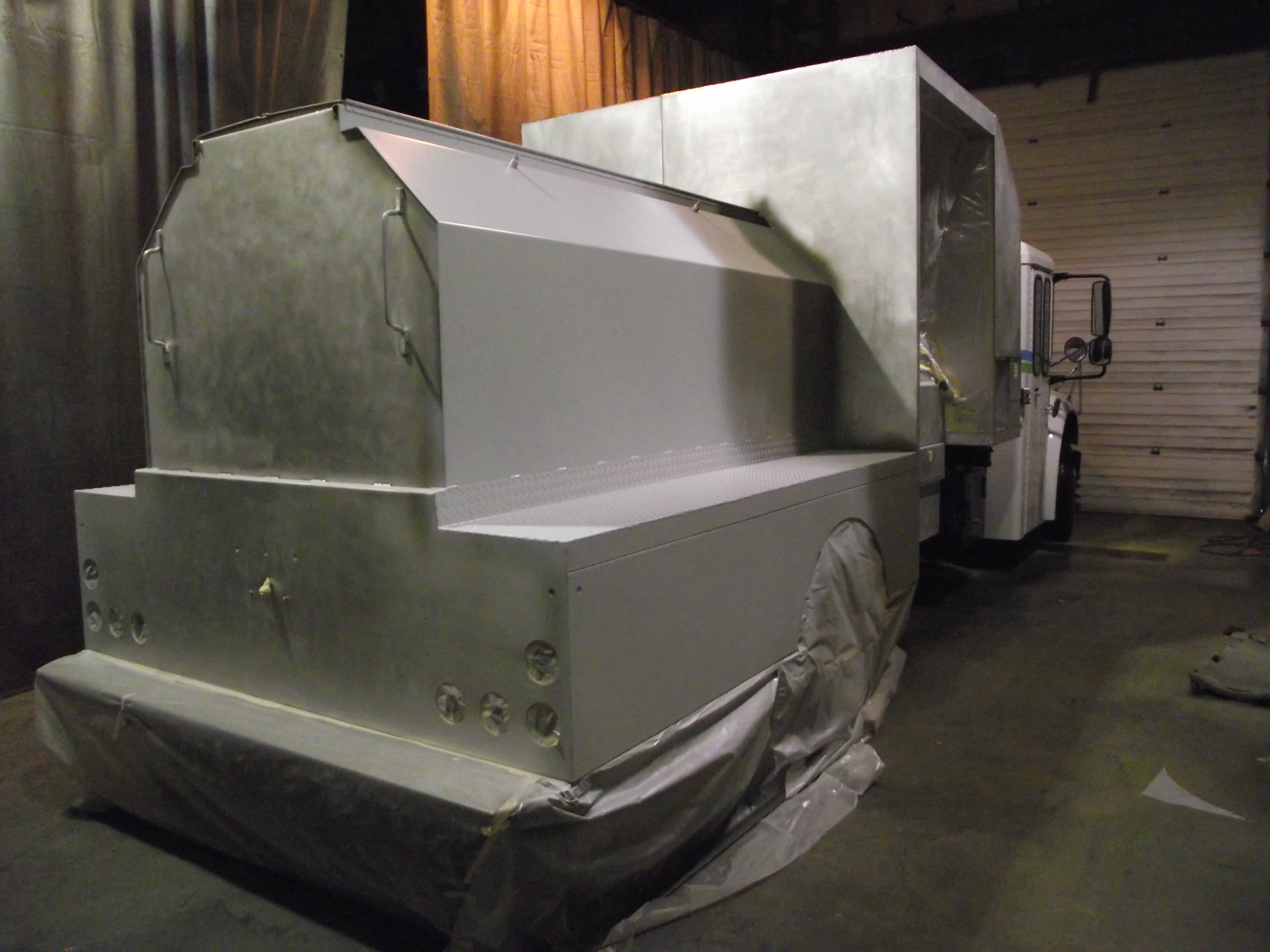 Lift Gate Repair >> A complete paint job with Imron Elite by Dupont